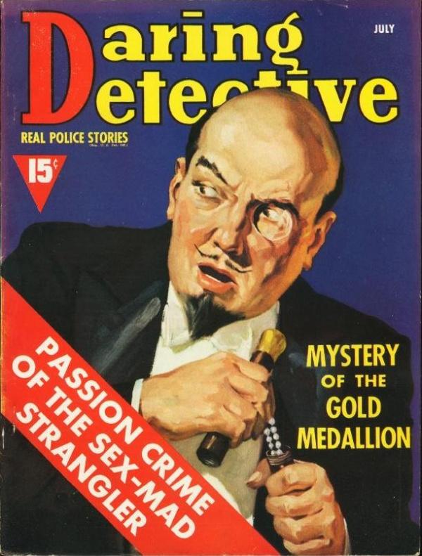 Daring Detective July 1939