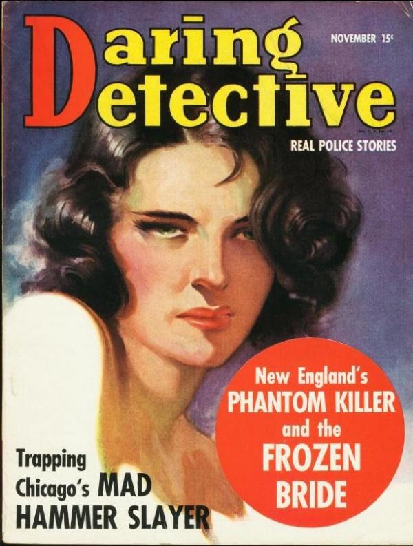 Daring Detective November 1938