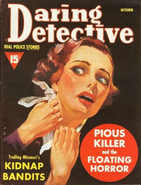 Daring Detective October 1939