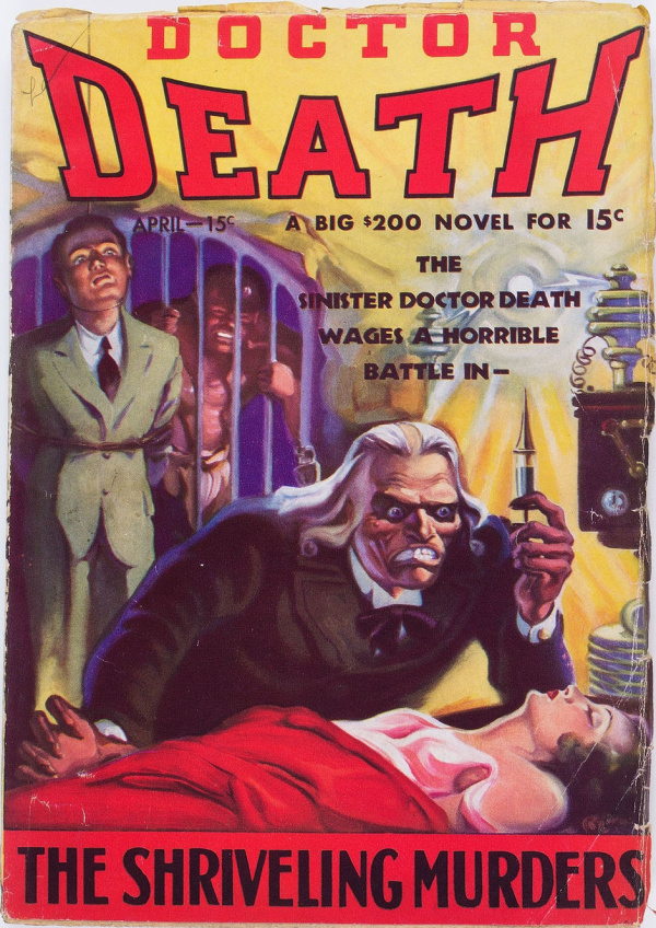 Doctor Death #3 (Dell, 1935)