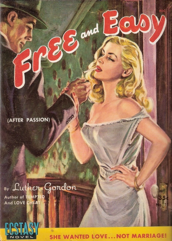 Ecstasy 1951 - # 11 - Free And Easy - Luther Gordon
