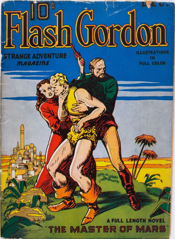 Flash Gordon Strange Adventure Magazine #1