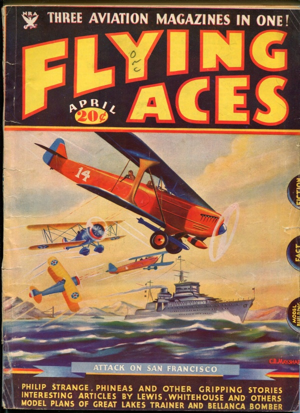 Flying Aces April 1935