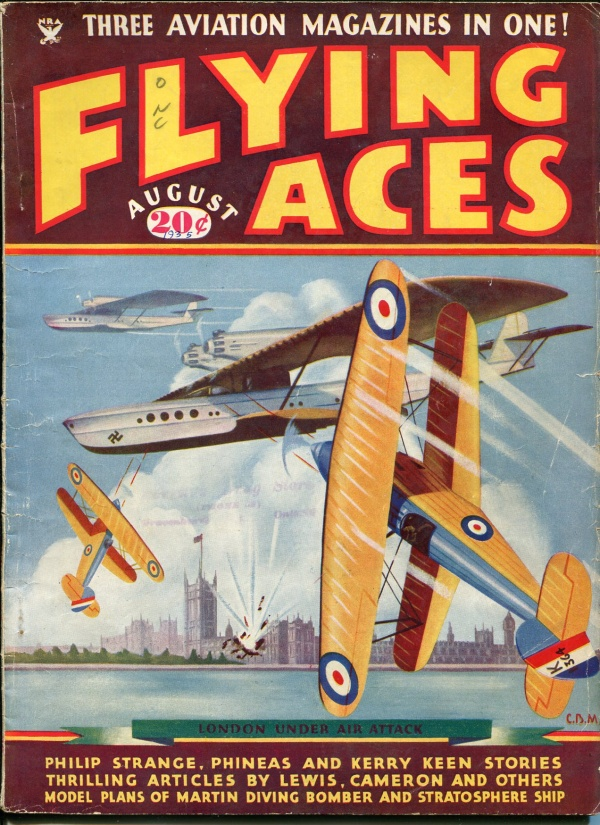 Flying Aces August 1935