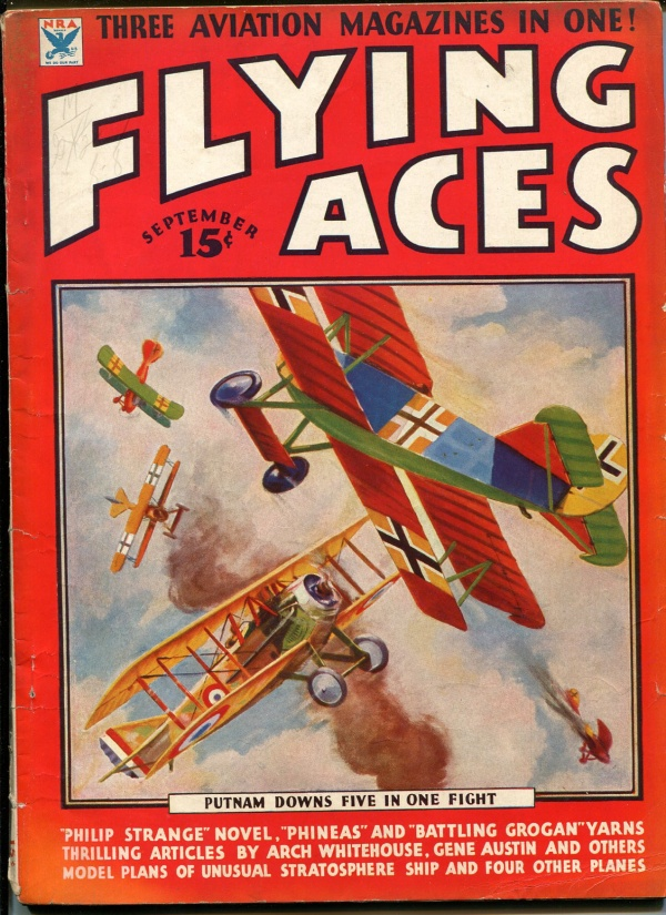 Flying Aces September 1934