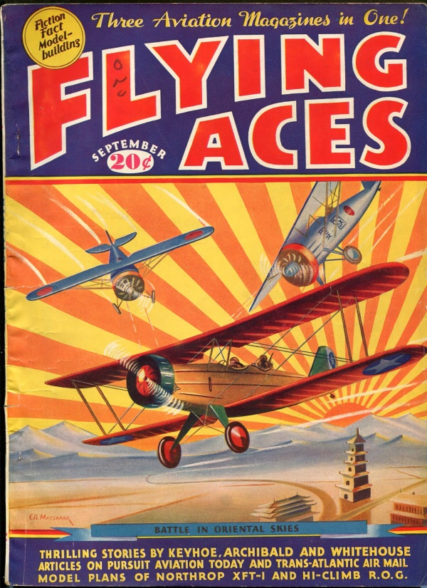 Flying Aces September 1935