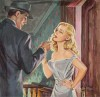 Free and Easy, paperback cover, Ecstasy 1951 thumbnail