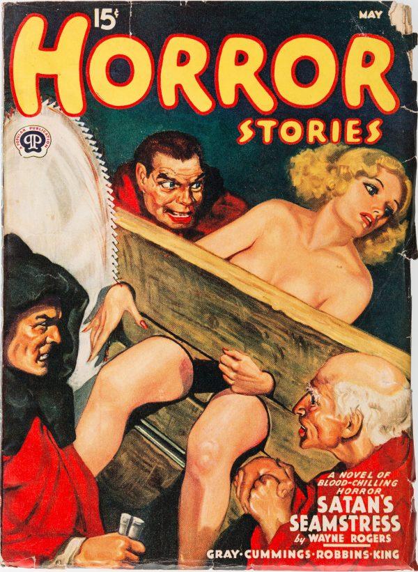 Horror Stories Magazine- May 1940