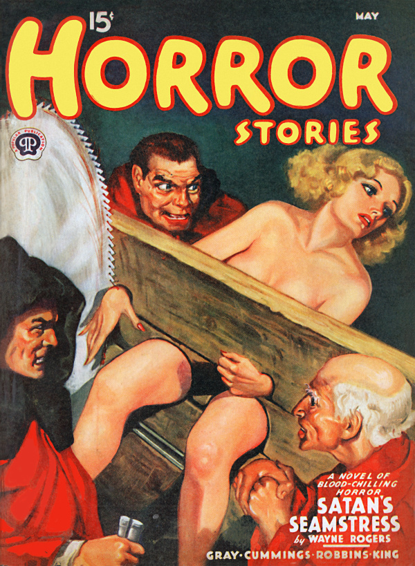 Horror Stories, May 1940