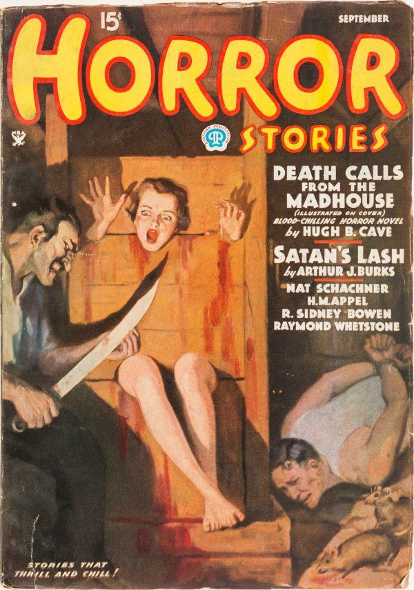 Horror Stories - September 1935