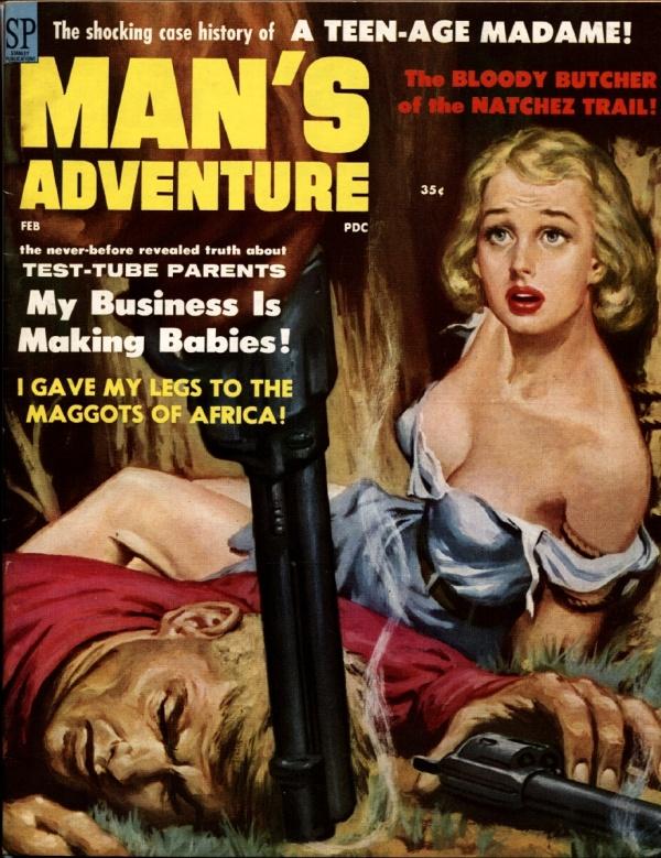 Man's Adventure February 1959