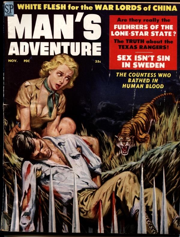 Man's Adventure November 1958