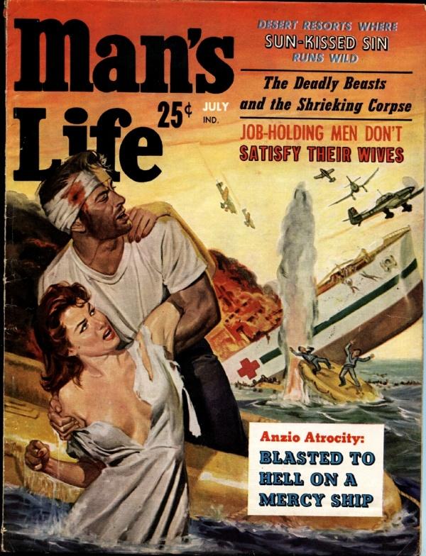 Man's Life July 1959