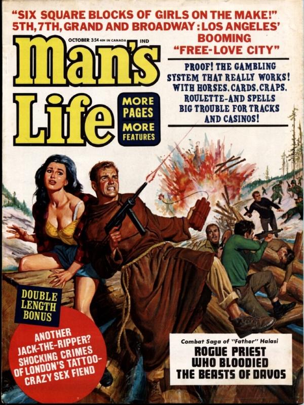 Man's Life October 1965