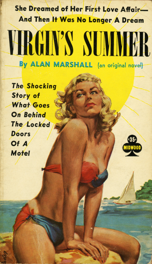 Midwood Books 36 - Alan Marshall - Virgin's Summer