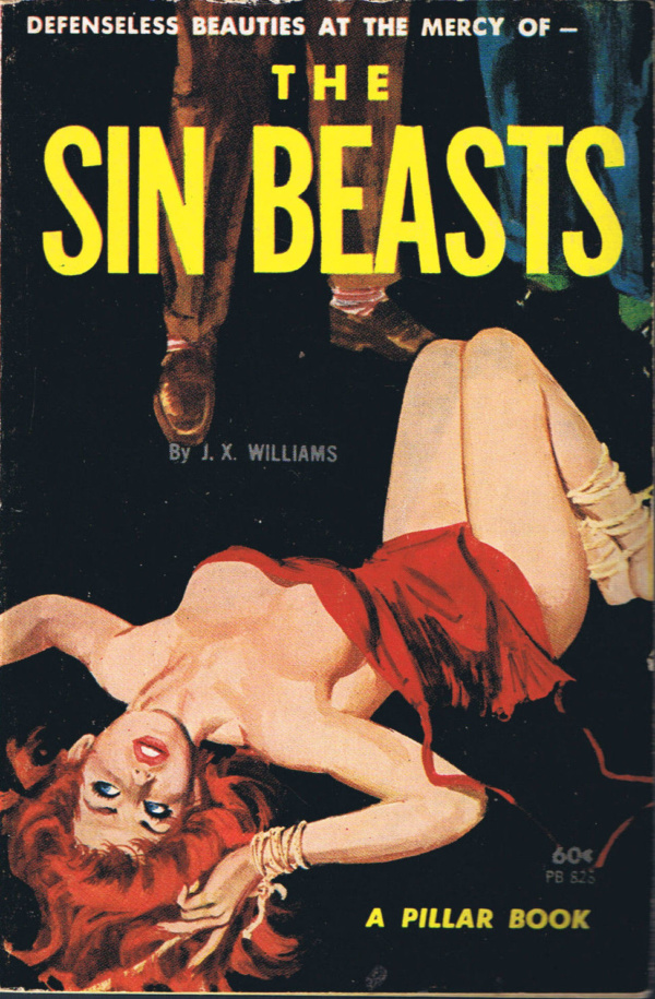 Pillar Books PB828 - The Sin Beasts (1964)