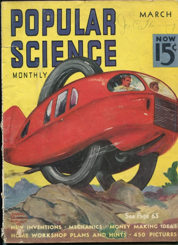 Popular Science March 1938
