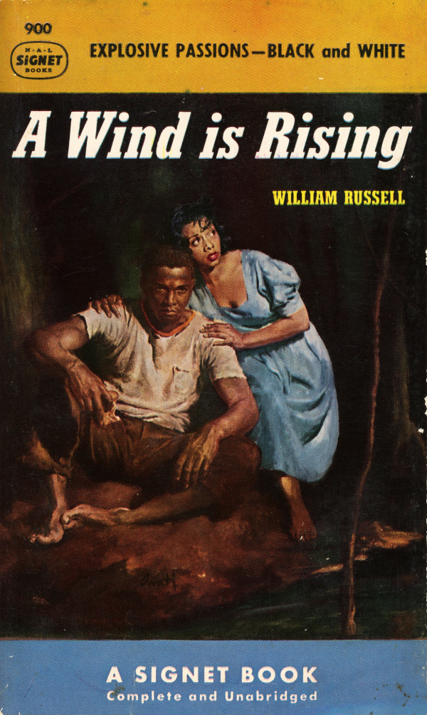 Signet Books 900 - William Russell - A Wind is Rising