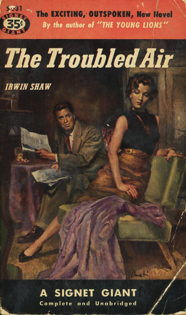 Signet Books S931 - Irwin Shaw - The Troubled Air