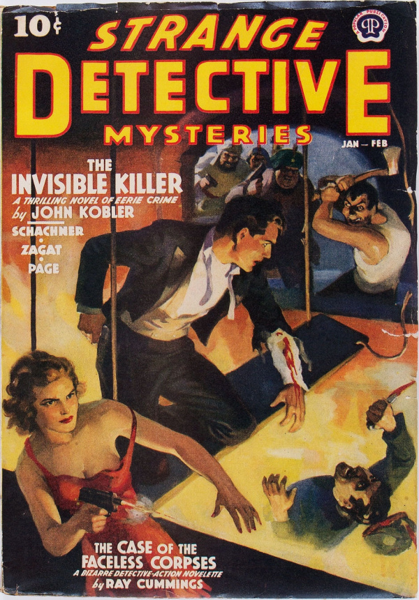 Strange Detective Mysteries Jan-Feb 1939