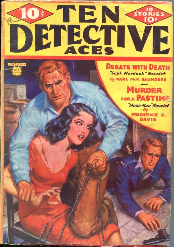Ten Detective Aces 1936 November