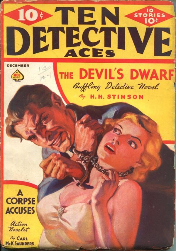 Ten Detective Aces December 1937