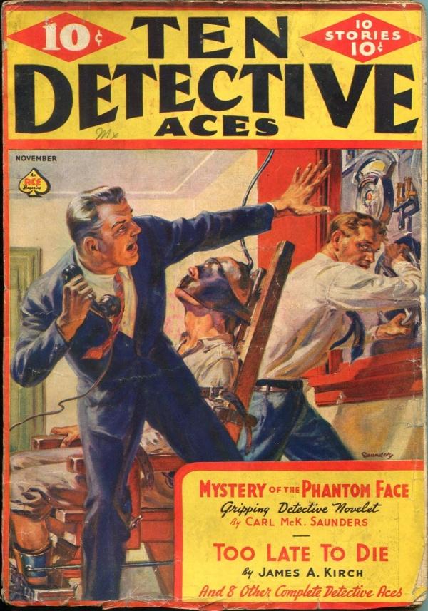 Ten Detective Aces November 1938