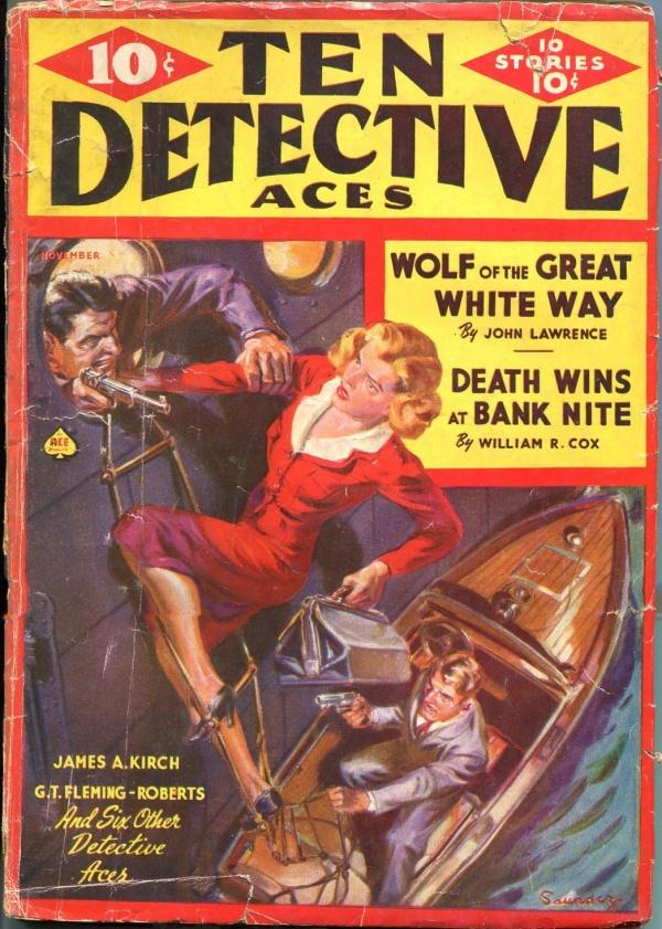 Ten Detective Aces November 1939