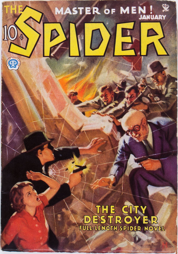 The Spider - January 1935