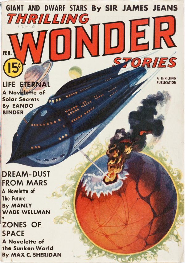 Thrilling Wonder Stories February 1938