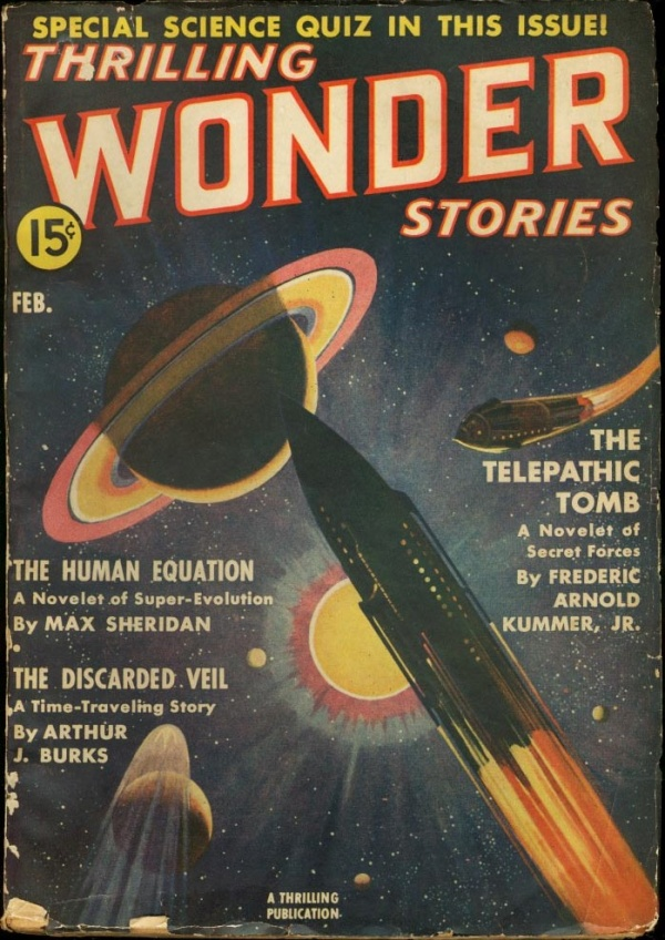 Thrilling Wonder Stories February 1939