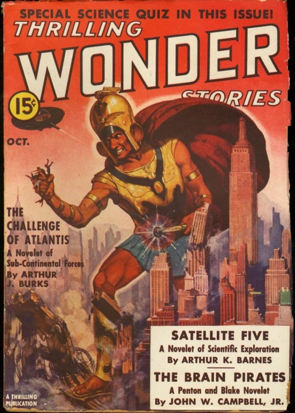 Thrilling Wonder Stories October 1938