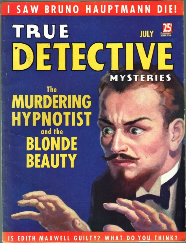 True Detective Mysteries July 1936
