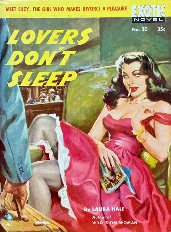 48925247866-exotic-novel-no-20-paperback-original-1951-digest-size-uncredited-cover-artist