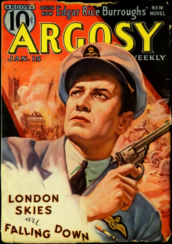 Argosy Weekly Vol. 278, No. 6 (Jan. 15, 1938). Cover by Emmett Watson