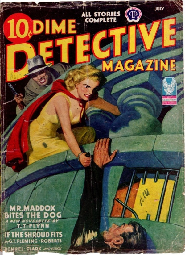 Dime Detective July 1943