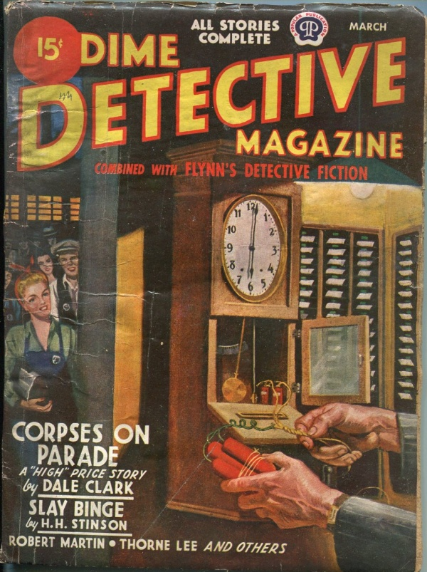Dime Detective March 1945
