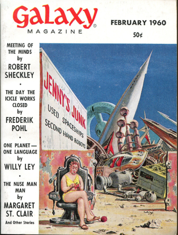 Galaxy SF Digest-February, 1960