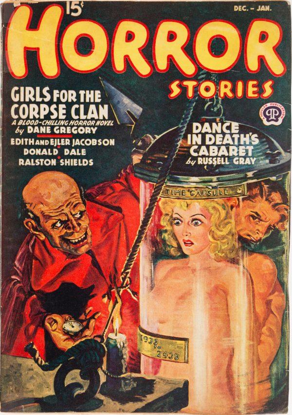 Horror Stories - December 1939