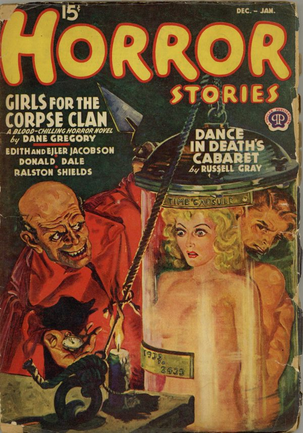 Horror Stories December-January 1939-1940