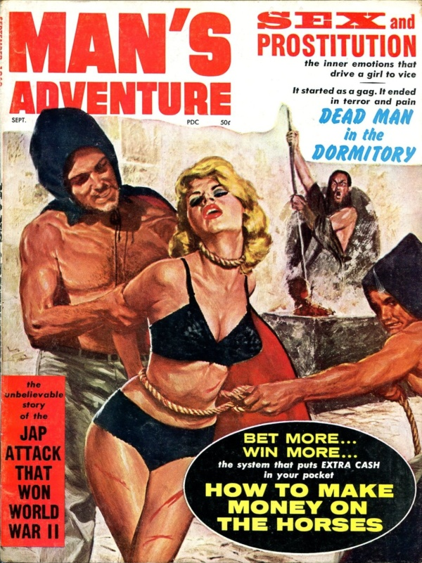 Man's Adventure September 1962