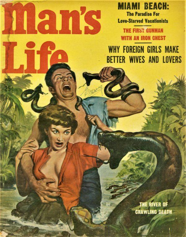 Man's Life Magazine July 1958