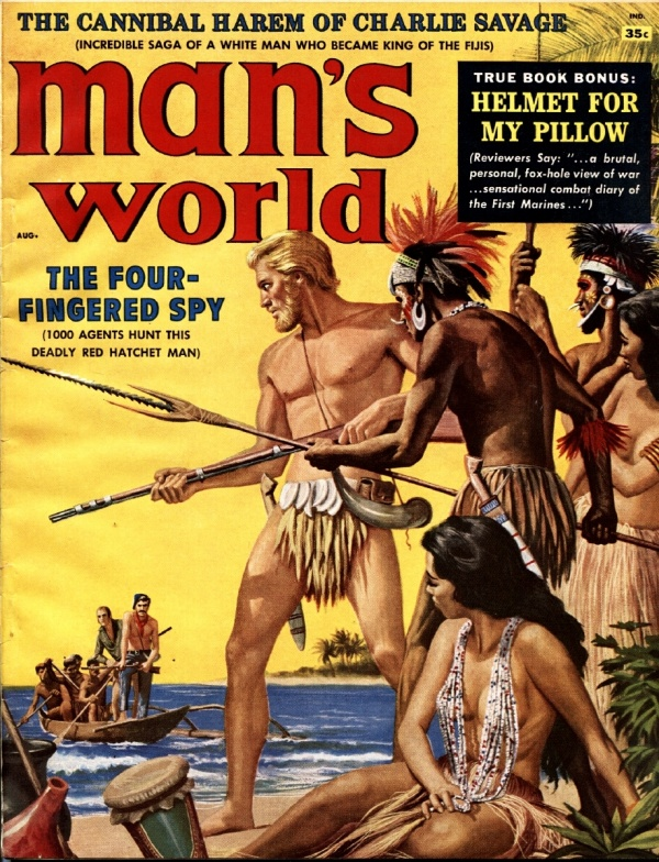 Man's World August 1958