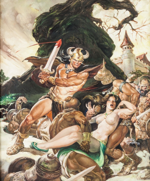 Nestor Redondo Savage Sword of Conan #50