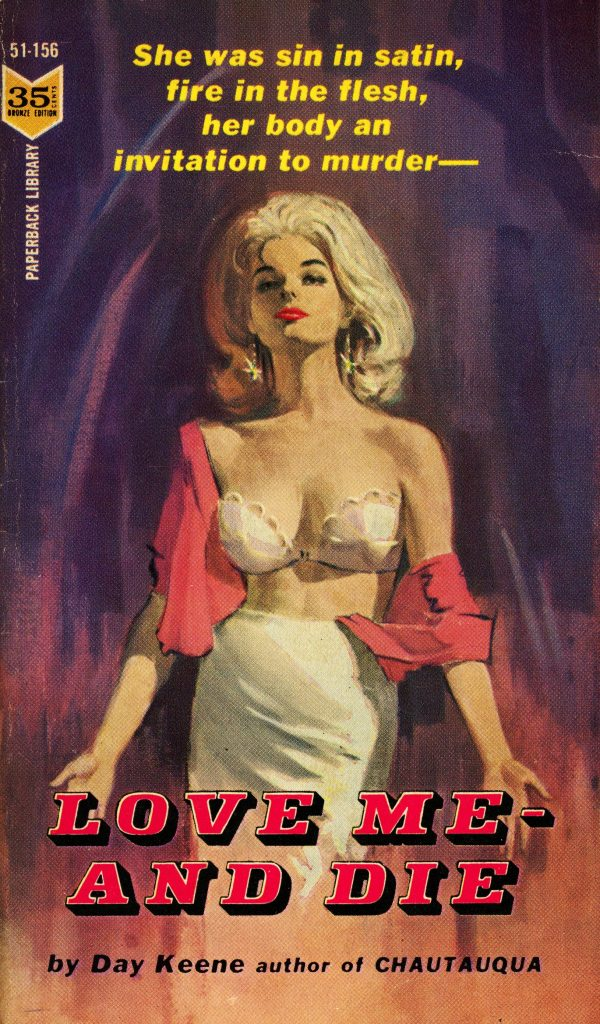 Paperback Library 51-156 - Day Keene - Love Me – And Die