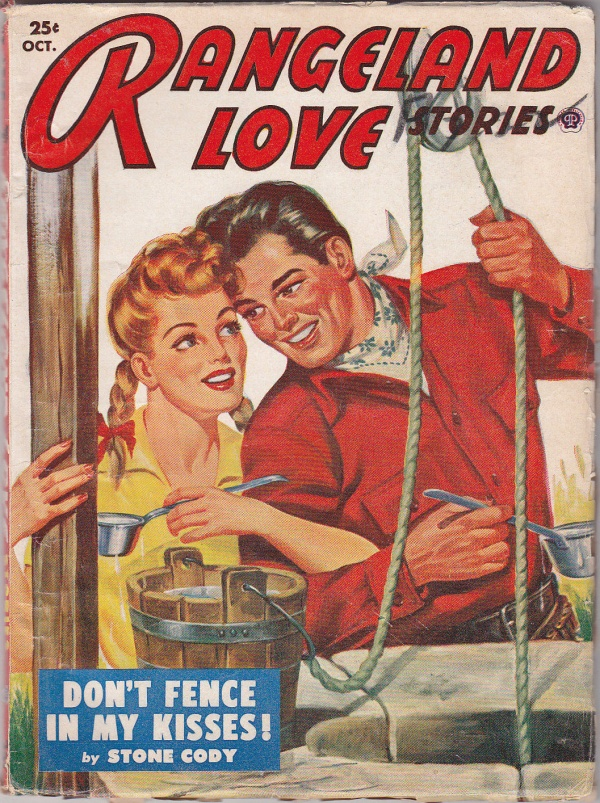 Rangeland Love Stories October 1953