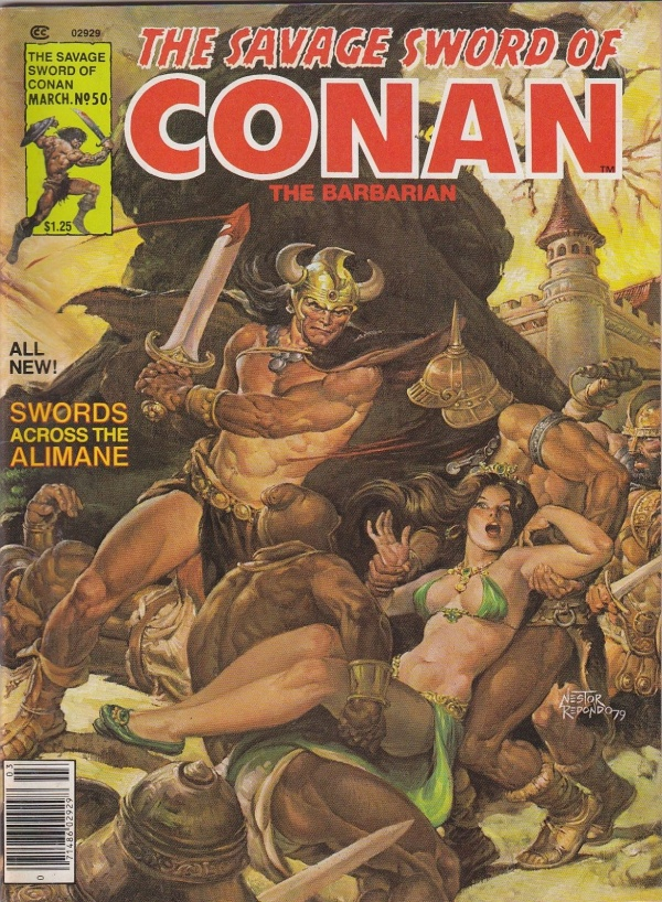 Savage Sword of Conan #50