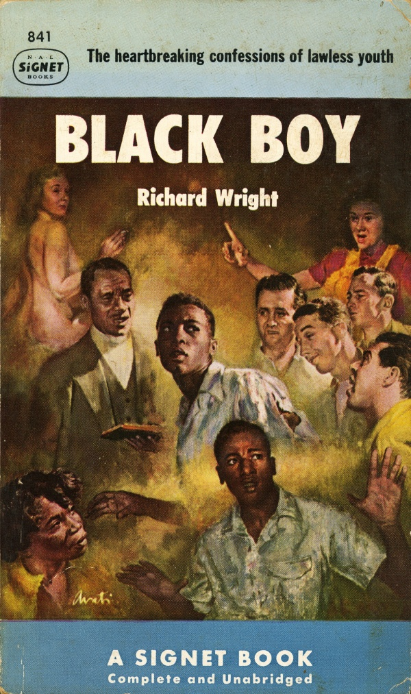 Signet Books 841 - Richard Wright - Black Boy