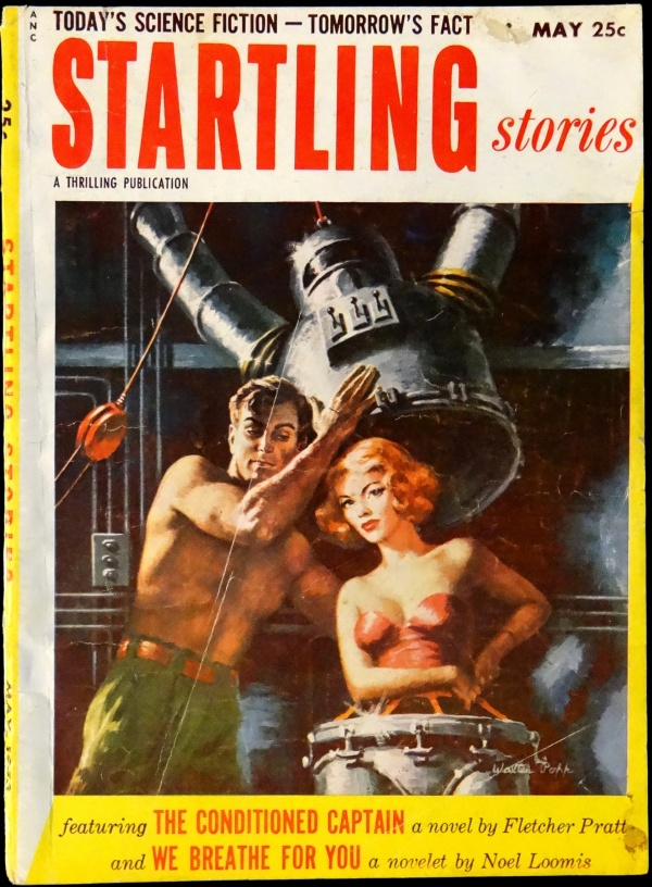 Startling Stories Vol. 30, No. 1 (May, 1953). Cover Art by Walter Popp