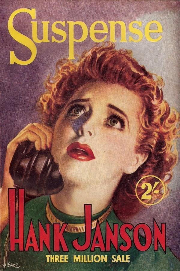 Suspense Hank Janson 1952